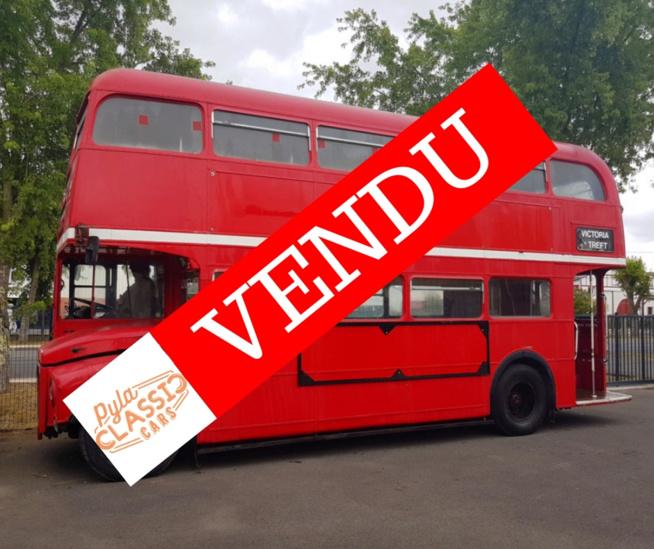 Véritable bus anglais à vendre !