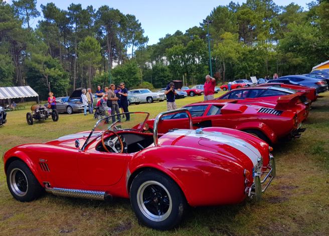 Rassemblement voitures anciennes et sportives - Gujan