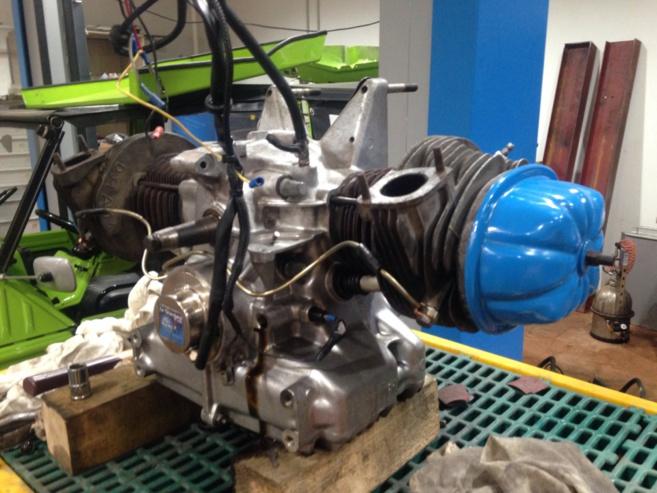 Rénovation moteur Méhari