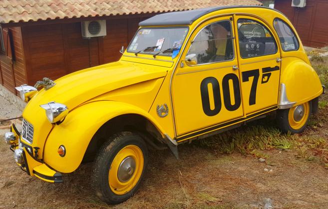 citroen 2cv 007 a vendre