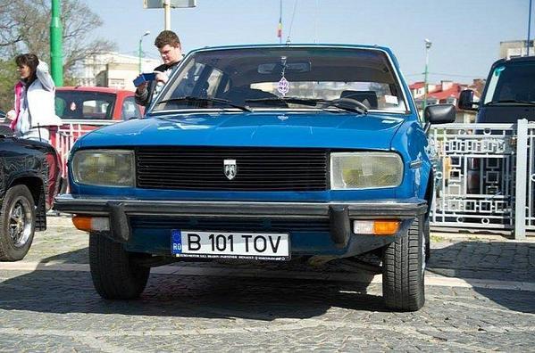 La R20 pardon la Dacia 2000 du  dictateur Ceaușescu