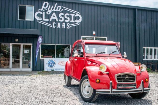 2 cv 6 Club à vendre chez Pyla Classic Cars