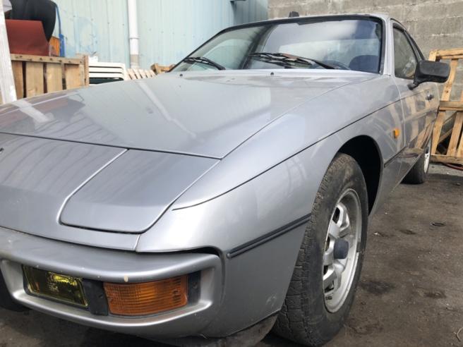 Porsche 924 à restaurer à petit prix - VENDU