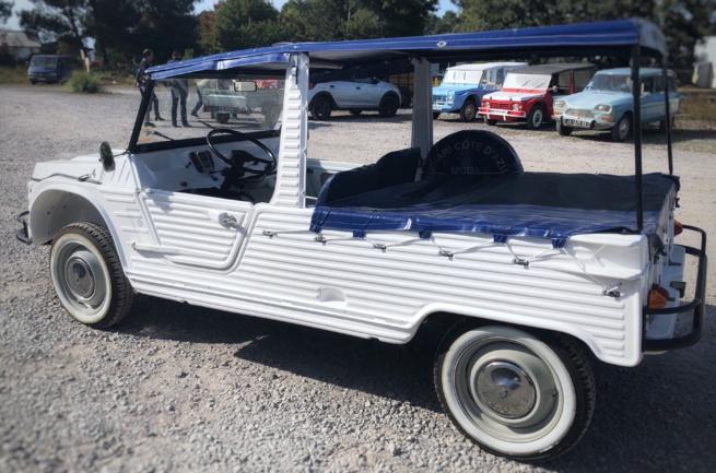 Méhari 2p restaurée à vendre chez Pyla Classic Cars