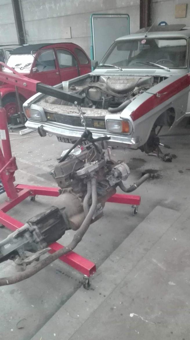 moteur boite de Ford Capri