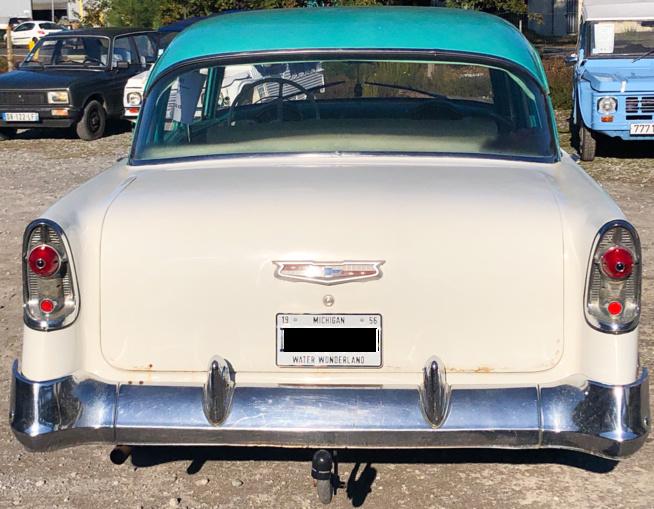 Arrière Chevrolet Bel Air