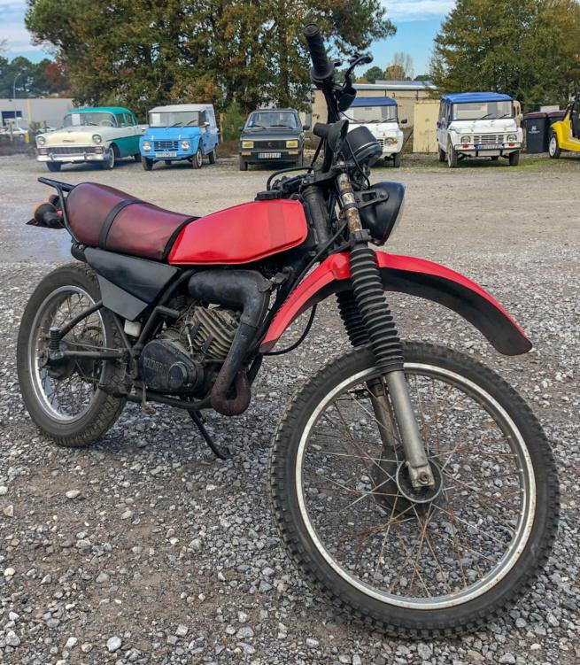 A vendre Yamaha 125 DTMX