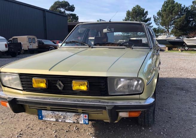 R20 Renault TS de 1979 à vendre - Occasion ayant peu roulé