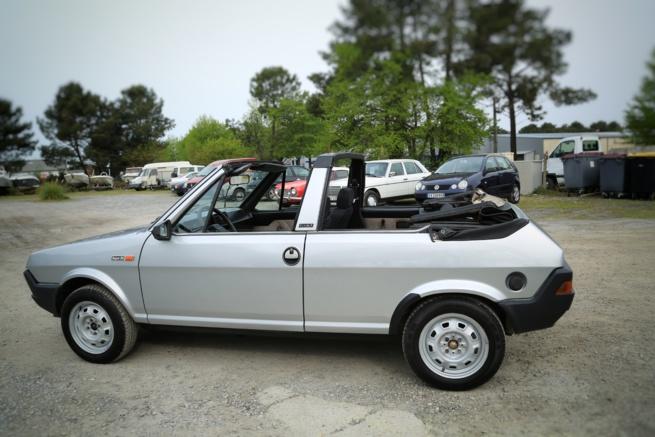 A vendre Fiat ritmo 85 S décapotable à redémarrer
