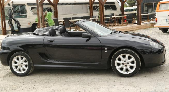 A vendre roadster cabriolet MG TF I.6 116 rhd parfait état