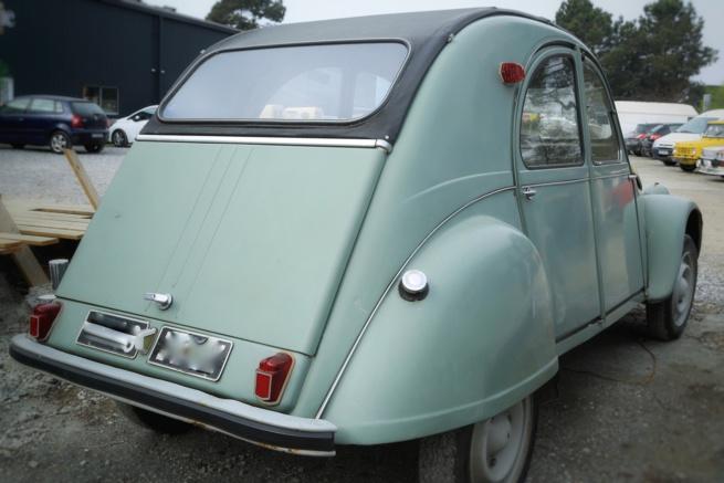 Citroën 2cv de 1963, mécanique refaite.