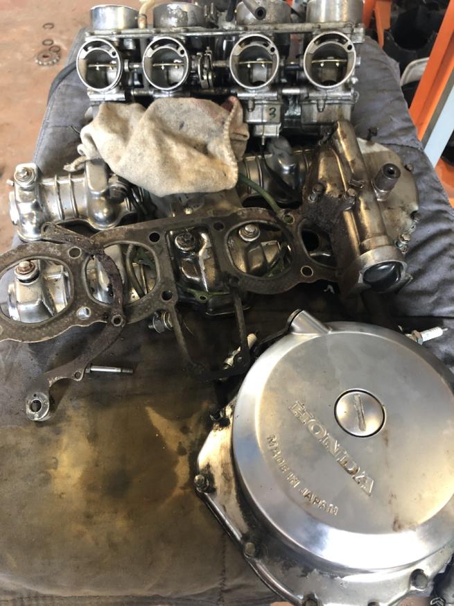 Honda 750 CB Bol d'or