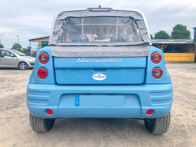 A vendre Bolloré Blue Summer de 2016  (voiture électrique)