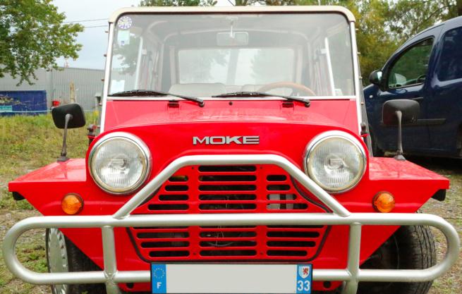 A vendre Mini moke entièrement restaurée