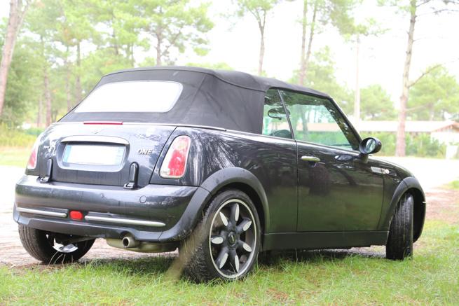 A vendre Mini One décapotable de 2008 finition Sidewalk