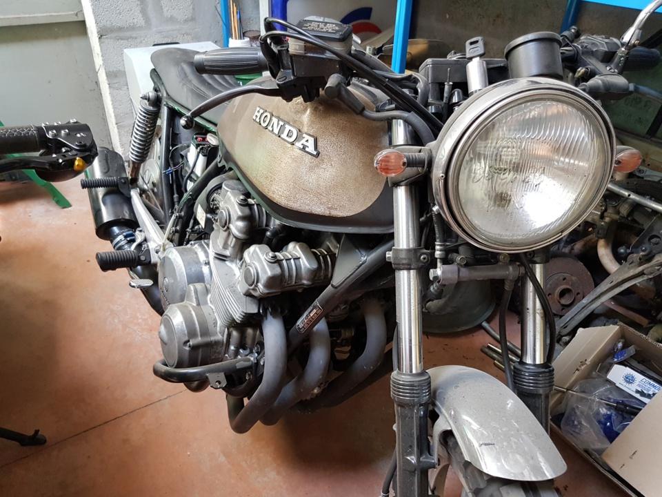 Moto Honda CB 750 d'occasion à vendre