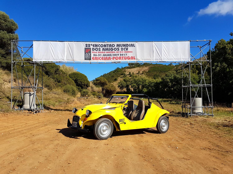 Deuggy, Pyla Classic Cars au Portugal pour la mondiale 2cv 2017