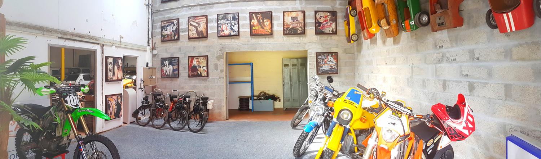 Show room moto La Teste