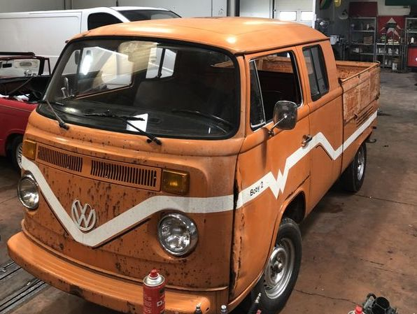 Combi volkswagen pick up double cabine de 1979 à vendre