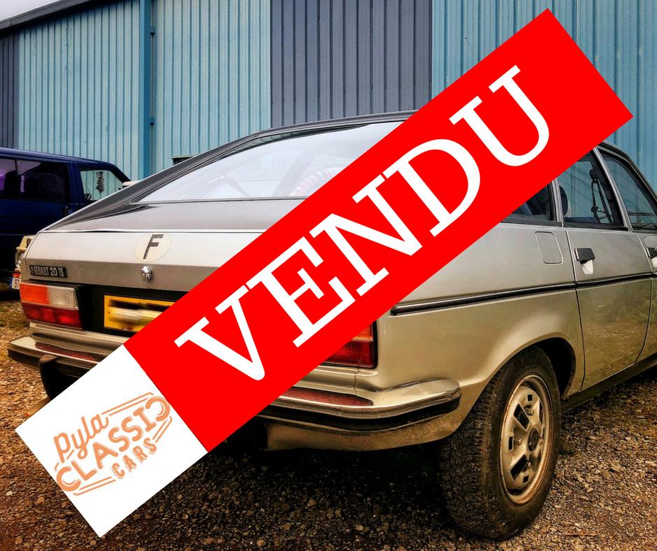 R20 Renault TS de 1980 à vendre - Occasion ayant peu roulé