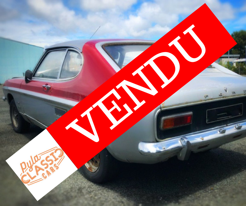 Caisse de Ford Capri de 70 à vendre