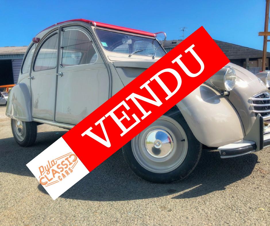 2cv AZA de 1968 à vendre