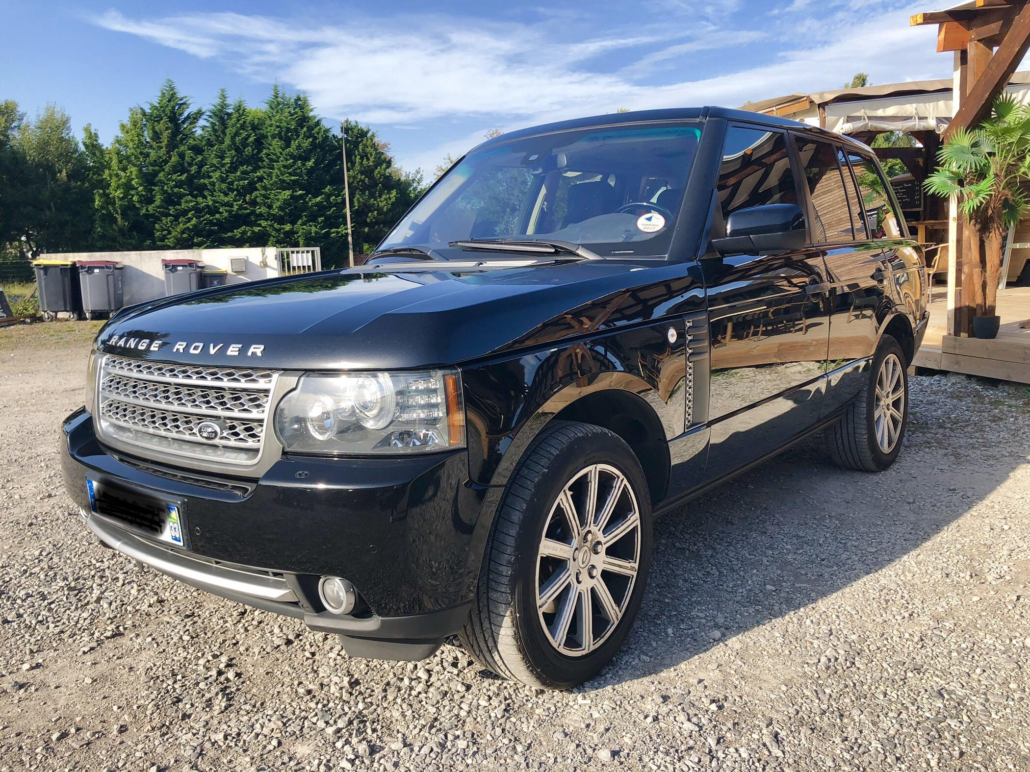 Range Rover version Autobiography de 2010