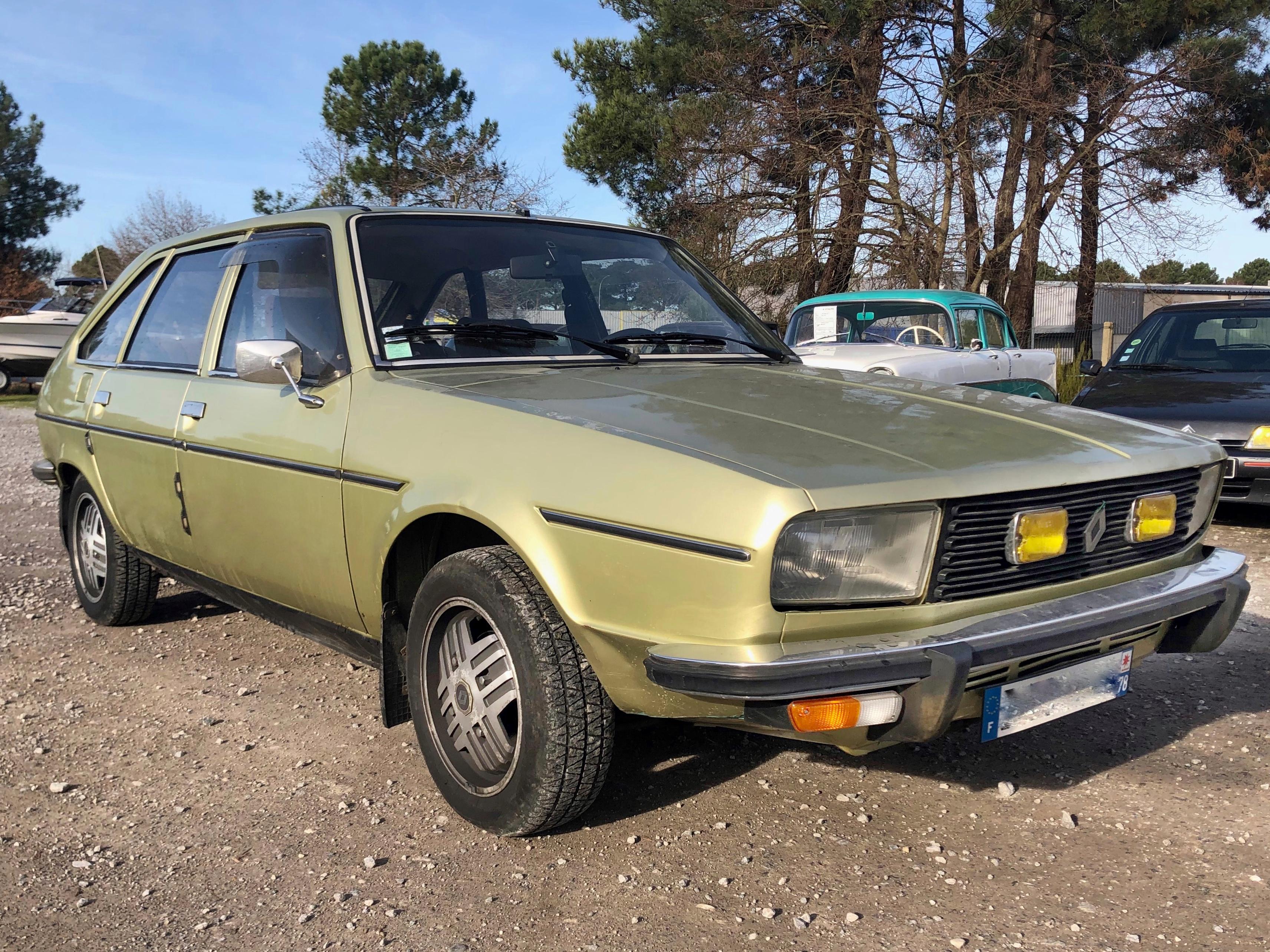 A vendre R20 Renault TS