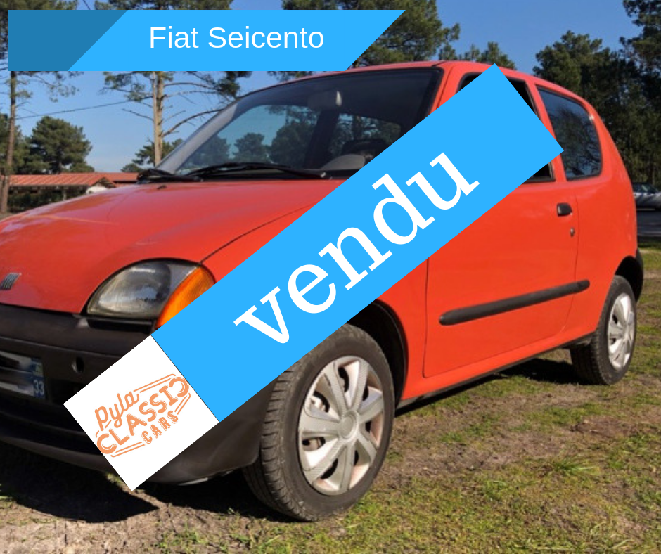 A vendre Fiat Seicento de 1998