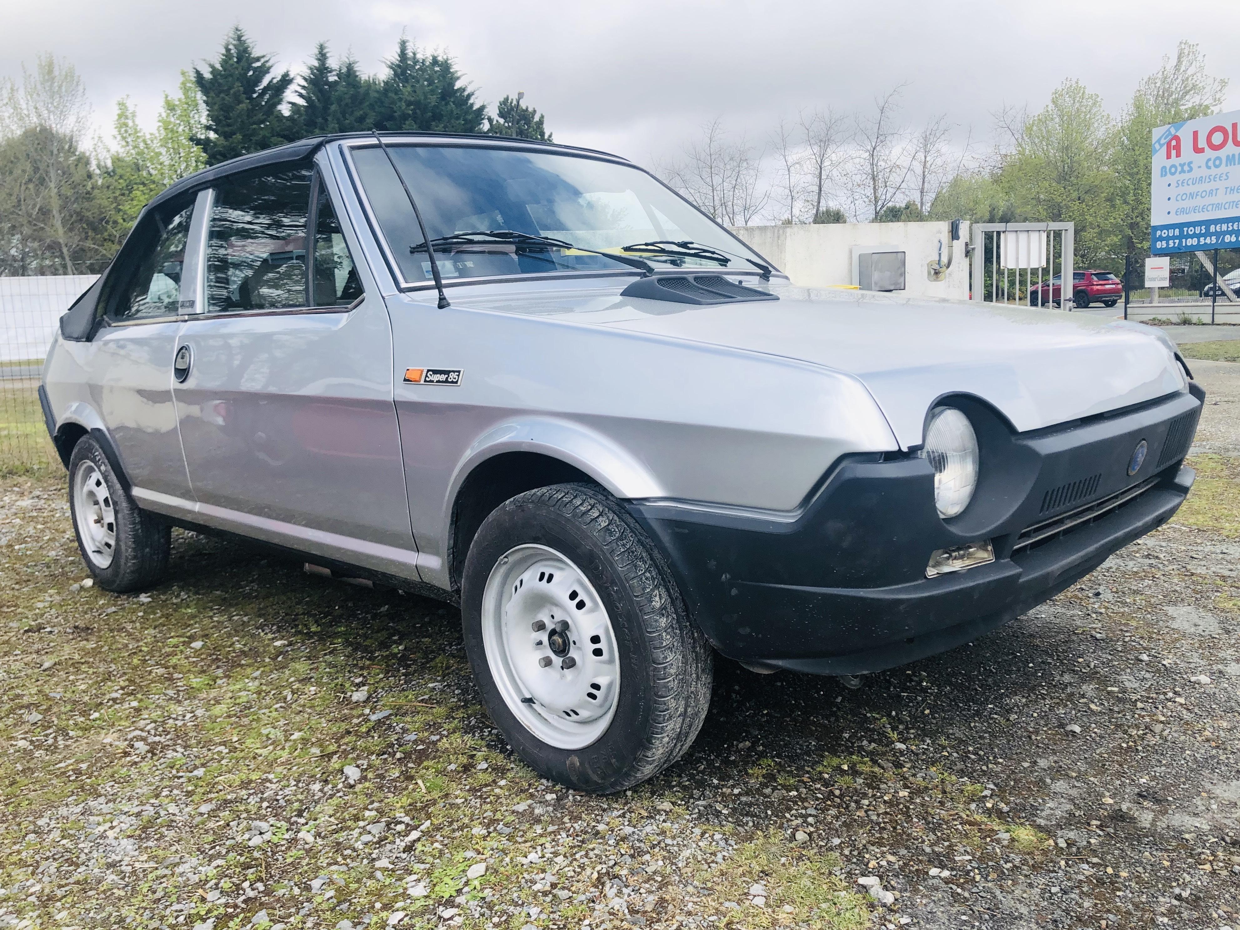 A vendre Fiat ritmo décapotable