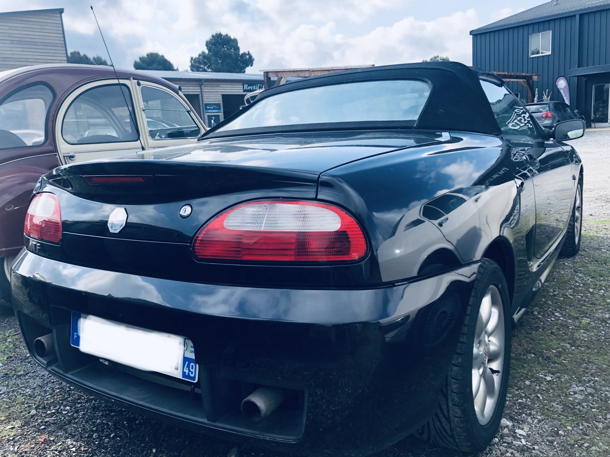 A vendre roadster cabriolet MG TF I.6 116 rhd