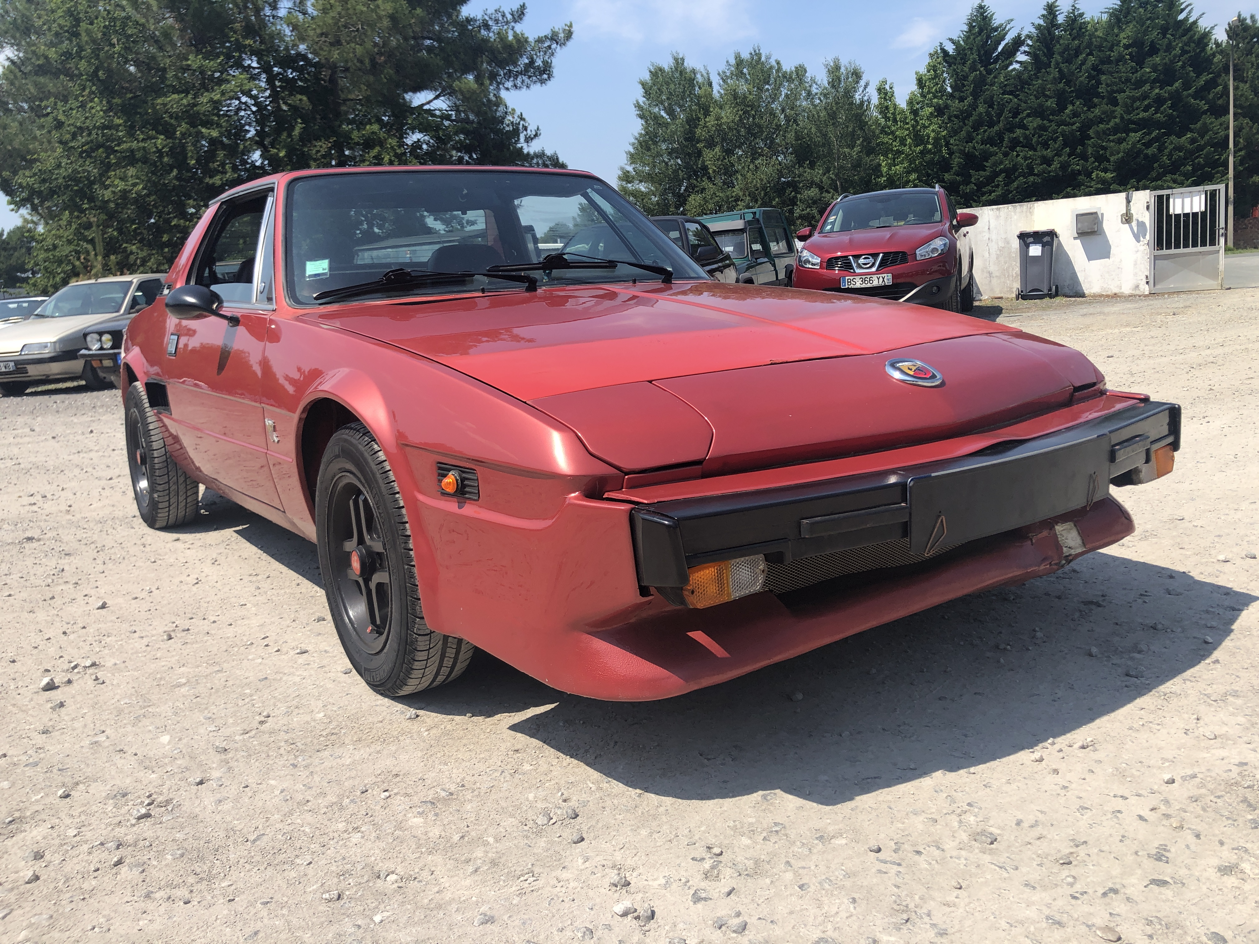 A vendre FIAT X 1/9 Bertone décapotable