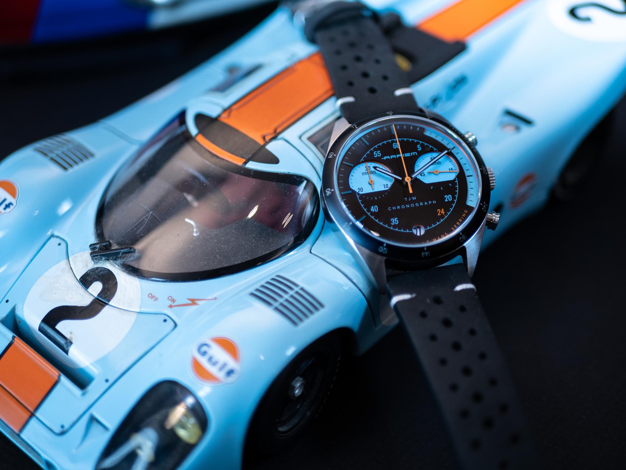 Montres automobiles racing des années 70 ARPIEM