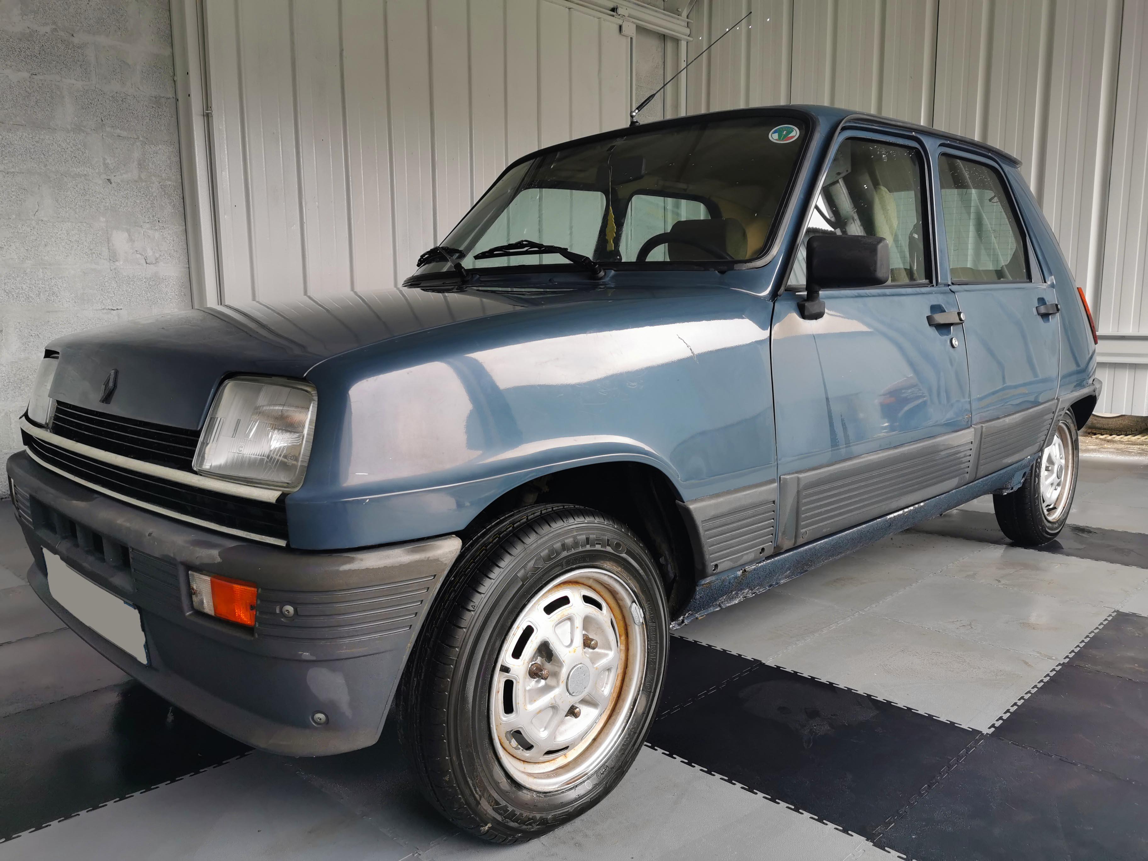 A vendre Renault R5 GTL berline 5 portes de collection (1982) peu kilométré