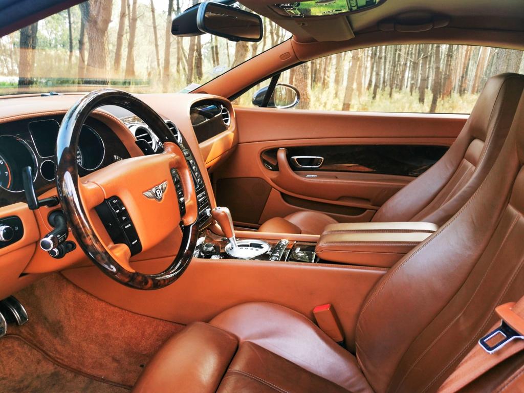 A vendre Bentley Continental GT coupé noire de 2007