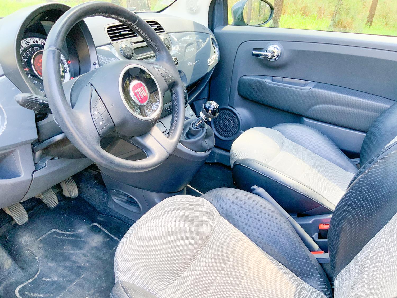 A vendre Fiat 500 Cabriolet 1,2 finition Lounge