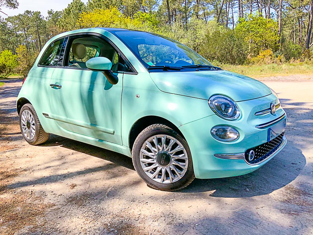 A vendre récente Fiat 500 Cabriolet 1,2 finition Lounge