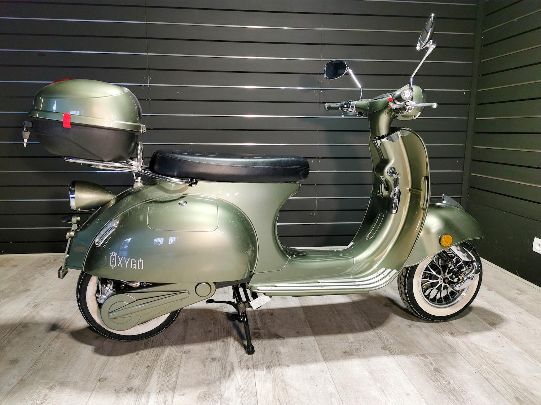Scooter électrique 50 : Tango d' Oxygo vert