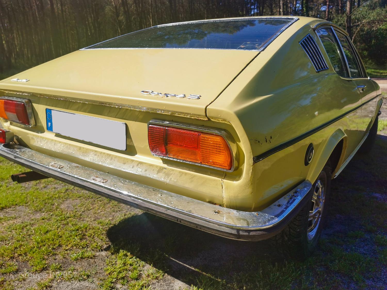 A VENDRE : rare Audi 100 Coupé S de 1971 (C1)
