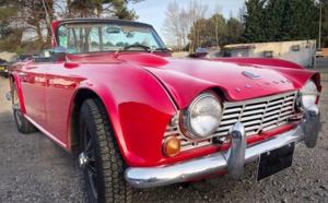 Triumph TR4 de 64