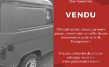 Véhicule vendu par Pyla Classic Cars
