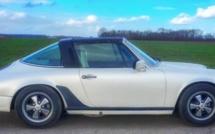 A vendre Porsche 911 Targa 2,7 de 1977 à rénover