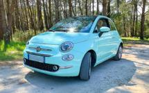 A vendre récente Fiat 500 1,2 finition Lounge