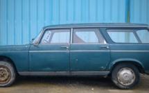 A vendre Peugeot 404 L break de 1968 de 1ère main à restaurer