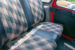 siège arrière  2cv6