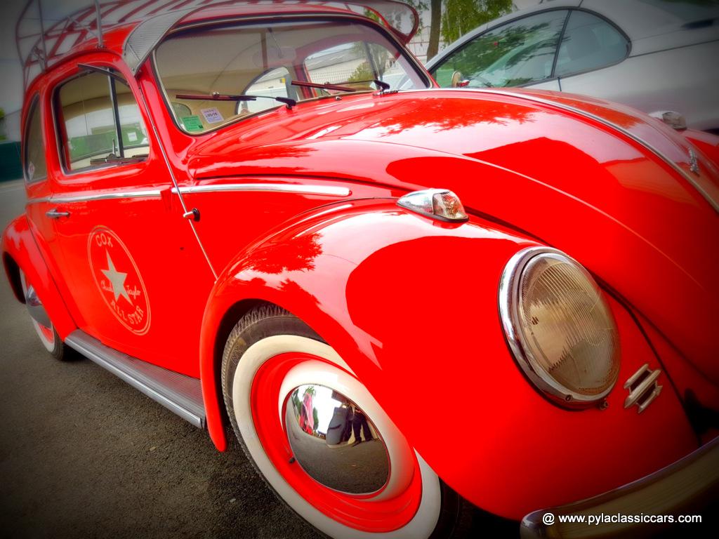 Coccinelle rouge jeune et vintage espritbassin for Garage volkswagen la teste